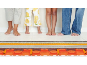 Teplovodní podlahové vytápění, které si zamilujete
