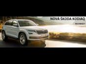 Nová Škoda Kodiaq se postará o jízdu vašich snů