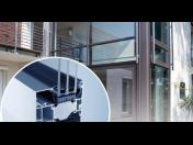 Bezpečný a útulný domov přes hliníkové dveře a okna Zlín