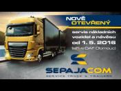 Kompletní servis nákladních vozidel a návěsů zajišťuje firma Sepajacom