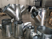 Komponenty pro vzduchotechniku, kovovýroba, dělení materiálu i svařování ocelí