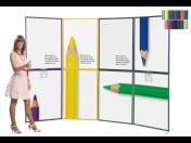 Konferenční paravány, výstavní stěny, reklamní věže, stolky a poutače pro vaše výstavní expozice