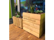 Sestavte si variabilní dřevěné květináče podle potřeb