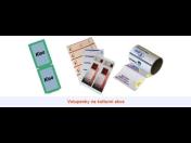 Zpracování a potisk papíru – lístky, vstupenky, kotoučky, pokladní pásky