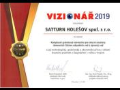 SATTURN HOLEŠOV spol. s r.o. – vítěz celostátních soutěží a firma s řadou technologických projektů