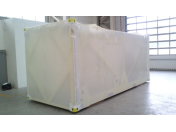 Moderné prepravné balenie do ochranných tepelne zmrštiteľných fólií
