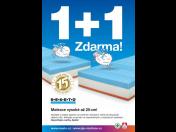 KAFKA&ŠUBA: zdravotní matrace pro váš kvalitní spánek, nyní v akci 1+1 ZDARMA