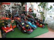 Prodej a servis kvalitní zahradní, lesní a komunální techniky
