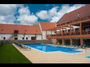 Hotel Zámek Valeč skrývá krásné, moderně vybavené wellness centrum