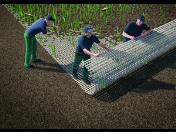 Hybridní trávník kombinuje přednosti umělého a přírodního trávníku