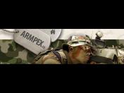 Vojenský materiál a technika na e-shopu ARMPEX