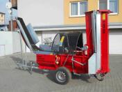 Mobilní štípač dřeva pro vás palivové dřevo připraví raz dva