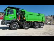 Sklápěčové nástavby Porgest na nákladní automobily