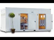 TOI TOI, sanitární systémy: mobilní buňky a kontejnery na stavby i akce