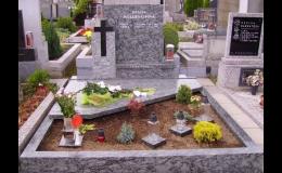 Kamenictví Škrobánek - pomníky a náhrobky