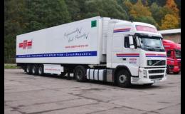 PAP TRUTNOV - kamionová přeprava
