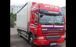 Mezinárodní i vnitrostátní kamionová přeprava