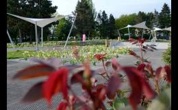 Výstaviště Flora Olomouc láká své návštěvníky na růžovou zahradu