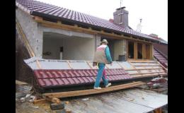 Zvládáme rekonstrukce i realizaci nových střech