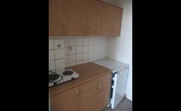 Levné ubytování je vybaveno kuchyňkou i koupelnou