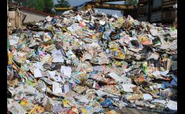 Výkup papíru, plastů nebo kovů zajistí Suroviny Jaromír Plundra