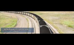 Obstaráme dopravu pevných paliv po celé Evropě