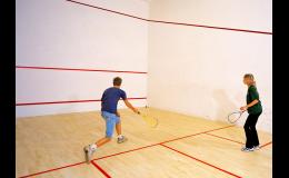 Sportovní centrum je ideálním místem pro squash