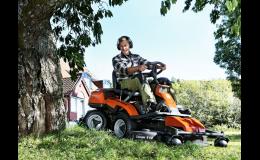 Zahradní traktůrky - ridery Husqvarna