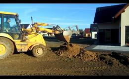 Terénní úpravy, realizace zahrad