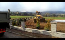 příprava ploch pro zeleň, Zahrady J+J s.r.o.