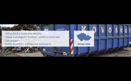 Výkup papíru a železného odpadu