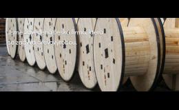 Kabelové bubny pro kabelovny, řetězárny, drátovny