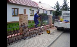 Zámečnictví HSV, Jičín: ocelové ploty, sloupky, brány a vrata