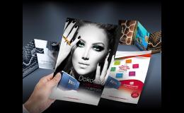 Tisk letáků, katalogů, vizitek, prospektů, kalendářů