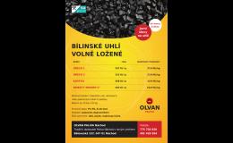 Prodej uhlí - jarní akce, OLVAN PALIVA s.r.o.