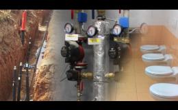 Topení, vodu a plyn vám nainstaluje firma Uniservis Hašek