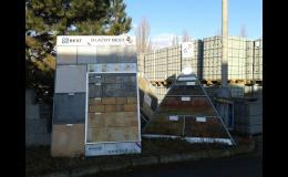 Prodej stavebních materiálů, dlažba, Václav Rajniš Stavebniny Kladno