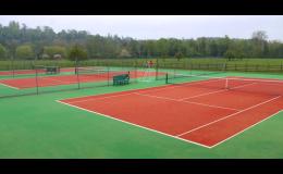 stavba sportovních staveb na klíč, Forward tenis - sportovní stavby Výstavba sportovišť a tenisových kurtů