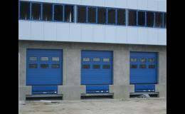 Vyrovnávací můstky, , Novaferm, s.r.o., Rychlonavíjecí průmyslová vrata Praha
