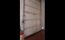 Sekční vrata, , Novaferm, s.r.o., Rychlonavíjecí průmyslová vrata Praha