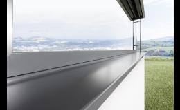 Parapety Fenorm aluminium :: okenní parapety