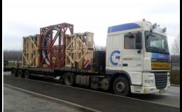 Nadrozměrný náklad - přeprava, Garantrans s.r.o.