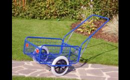 ruční dvoukolový vozík, Kovodružstvo, v.d., Beroun