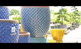 Zahradní dekorace, mrazuvzdorná keramika, Zahradnické centrum Brabec, s.r.o.