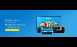 DIGI TV: klasická televize, TV v tabletu, telefonu či tabletu