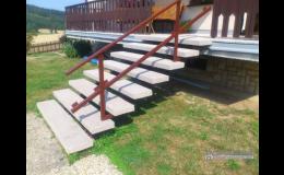 Rekonstrukce schodů, POPAS CZ, s.r.o.