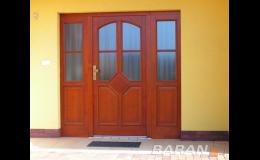 Vchodové dveře, Baran - FMB, spol. s r.o. Okna, dveře, vrata, stavba