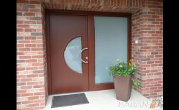 Domovní dveře, Baran - FMB, spol. s r.o. Okna, dveře, vrata, stavba