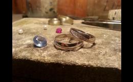 Snubní prsteny na zakázku, Zlatnictví u Papouška, Pavel Hegr