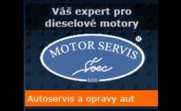 Autoservis a opravy aut, MOTORSERVIS Švec, s.r.o.